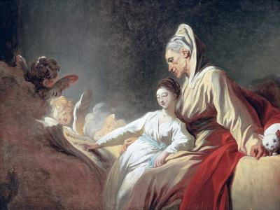 Education of the Virgin, C1773-Jean-Honore Fragonard-Giclee Print