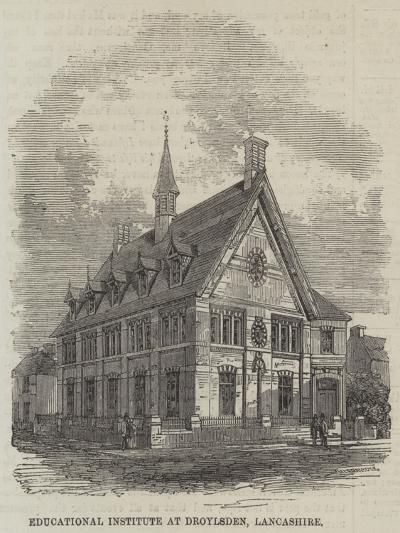 Educational Institute at Droylsden, Lancashire--Giclee Print