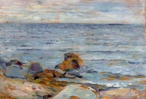 Asgardstrand by Edvard Munch