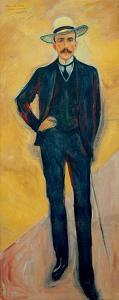Harry Count Kessler, 1906 by Edvard Munch