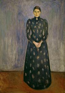 Inger Munch, The Artist's Sister, 1892 by Edvard Munch