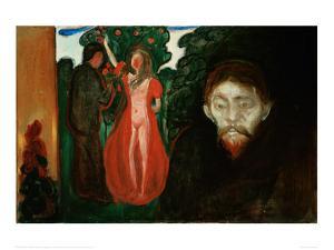 Jealousy by Edvard Munch
