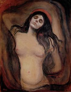Madonna by Edvard Munch