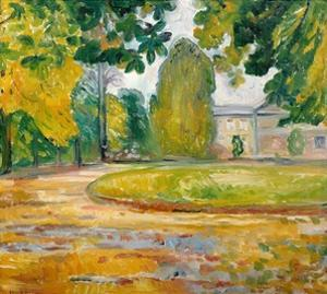 Park in Koesen, 1906 by Edvard Munch