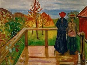 Rain, 1902 by Edvard Munch