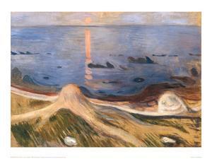 Summer Night , 1900 by Edvard Munch