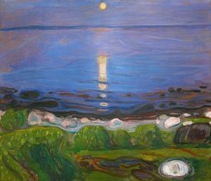 Summer Night on the Beach by Edvard Munch