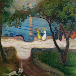 The Dance on the Shore by Edvard Munch