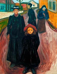 The Four Ages of Life, 1902 by Edvard Munch