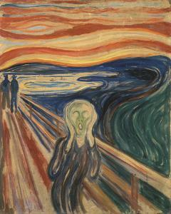 The Scream, 1910 by Edvard Munch