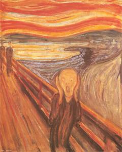 The Scream, c.1893 by Edvard Munch
