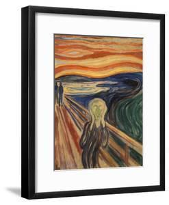 The Scream by Edvard Munch