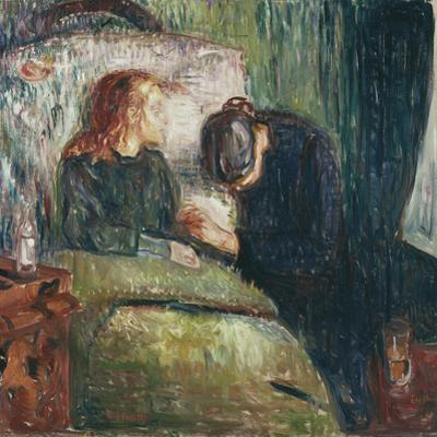 The Sick Child by Edvard Munch