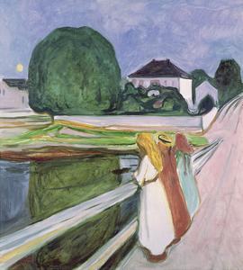 The White Night, 1903 by Edvard Munch