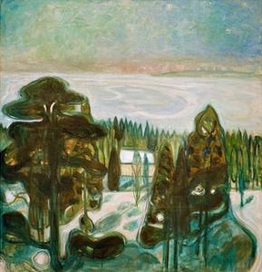 White Night, 1901 by Edvard Munch