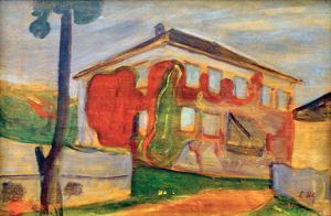 Wild Red Vine, 1898 by Edvard Munch