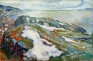 Winter Landscape, 1915 by Edvard Munch