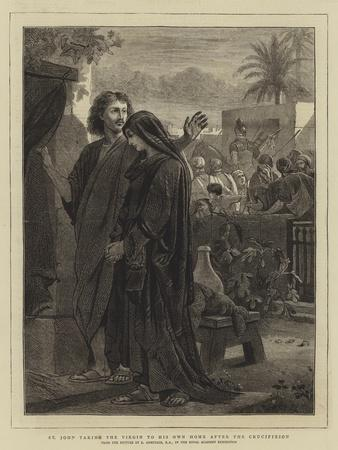 St John Taking the Virgin to His Own Home after the Crucifixion