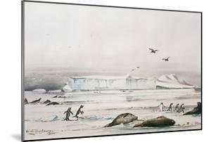 Antarctic Landscape by Edward Adrian Wilson