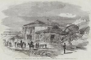 Entrance to Sebastopol, from the Woronzoff Road by Edward Angelo Goodall