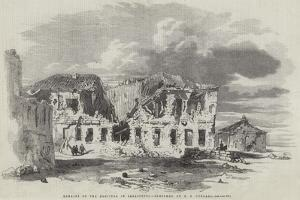 Remains of the Hospital in Sebastopol by Edward Angelo Goodall