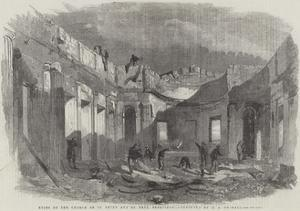 Ruins of the Church of St Peter and St Paul, Sebastopol by Edward Angelo Goodall