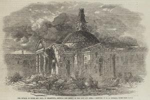 The Church of Peter and Paul, in Sebastopol, Showing the Effect of the Shot and Shell by Edward Angelo Goodall