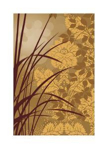 Golden Flourish I by Edward Aparicio