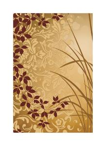 Golden Flourish II by Edward Aparicio