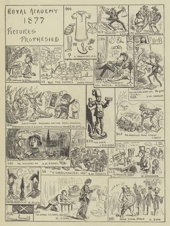 Royal Academy 1877, Pictures Prophesied