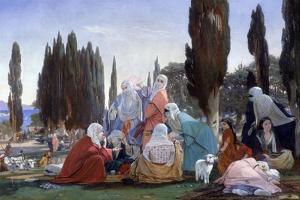 Souvenir of Scutari, 1857 by Edward Armitage