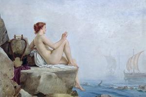 The Siren, 1888 by Edward Armitage