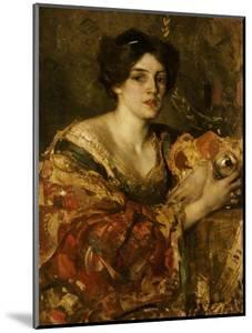 The Fortune Teller, Miss Jane Aitken by Edward Arthur Walton
