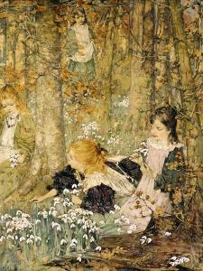The Coming of Spring, 1899 by Edward Atkinson Hornel