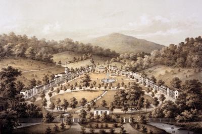 White Sulphur Springs, Montgomery County, from 'Album of Virginia', 1858