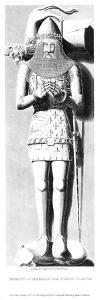 Effigy of Edward the Black Prince (1330-137), 1824 by Edward Blore