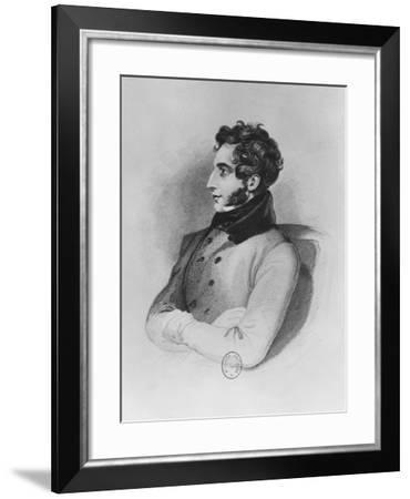 Edward Bulwer-Lytton, Lord Lytton--Framed Giclee Print