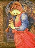 An Angel Playing a Flageolet, 1878-Edward Burne-Jones-Mounted Giclee Print