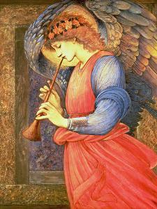 An Angel Playing a Flageolet, 1878 by Edward Burne-Jones