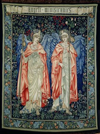 Angeli Ministrantes, 1894 (Tapestry)
