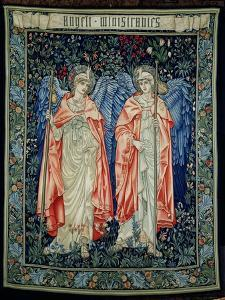 Angeli Ministrantes, 1894 (Tapestry) by Edward Burne-Jones