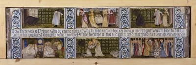 Beauty and the Beast Tile Panel, Morris, Marshall, Faulkner and Co., C.1867
