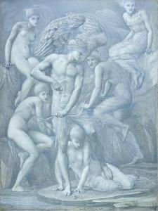 Cupid's Hunting Fields by Edward Burne-Jones