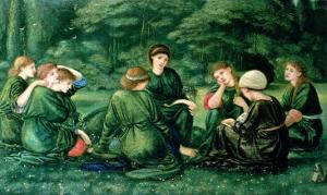 Green Summer, 1868 by Edward Burne-Jones