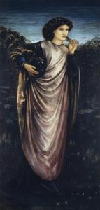 Morgan Le Fay, 1862 by Edward Burne-Jones