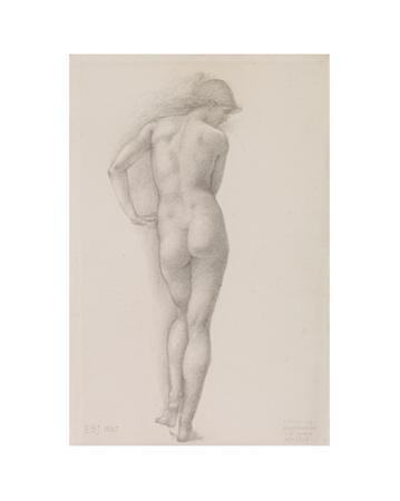 Nude study of Andromeda