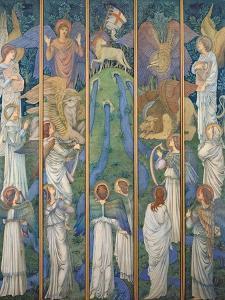 Paradise by Edward Burne-Jones
