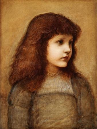 Portrait of Gertie Lewis, Half-Length