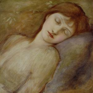 Study for the Sleeping Princess in 'The Briar Rose' Series, c.1881 by Edward Burne-Jones