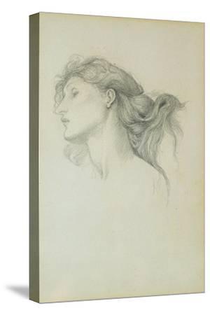 Study for Venus in 'Laus Veneris', 1878